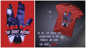 The most human - design for QWERTEE by 2WinGs2ZioN
