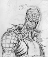 sketch - Killer Croc by RyanMcMurry