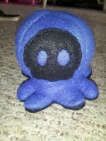 Blue and black Punisher Octopus by TheJadedRaven