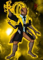 Sinestro Corps Uncle Kage by MorbiusMonster