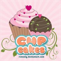 Cute PNG Cupcakes by Romenig