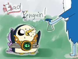 Bad Penguin!!! by JJAnna172