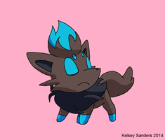 Labor Day Shiny Zorua by KelseyEdward