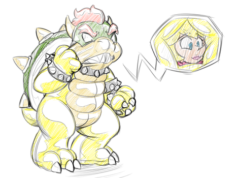 King/Queen koopa by HelixJack