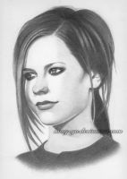 Avril Lavigne 10 by Hong-Yu
