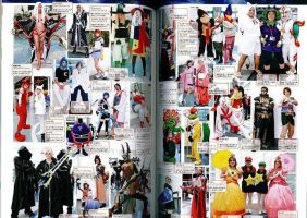 AX2010 Cosplayer in Magazine by ProtoCall13o2