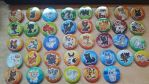 GUESS WHO BOUGHT 36 CAT BUTTONS by Deikitten