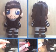 Solid Snake Smash Bros Plushie by VioletLunchell
