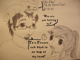Imaginary French Cat by girloveslink