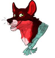 Misc Dog Headshot by Kenny-BS
