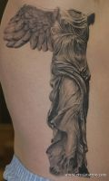 Warr angel by Remistattoo
