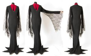 The Addams Family - Morticia Dress by Kairillia
