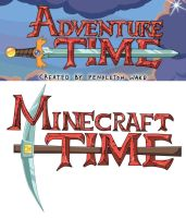 Minecraft meets Adventure time by rammkiler