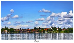 Chiemsee waterside by deaconfrost78