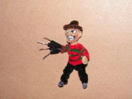 Freddy Krueger by fuzzyfigureguy