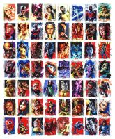 X-men Archives sketchcards by felipemassafera