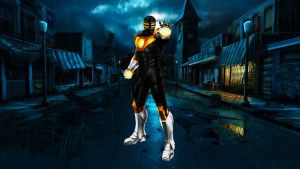 Power Ranger Zeo Iron Man by 666Darks