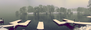 The lake in winter. version 2.0 by The-Satchmoe