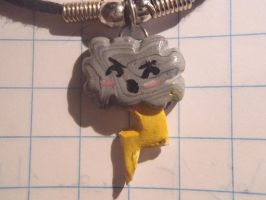 thunder cloud polymer clay by so1what1i1am1myself