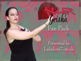 Killer Geisha Fan PACK by themuseslibrary