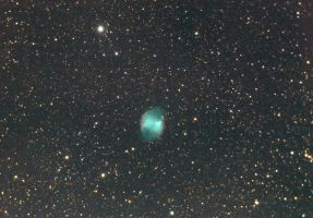 M27 - Dumbell nebula by whiteLion07