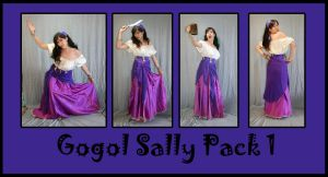 Gogol Sally Pack 1 by LongStock