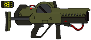 KXW-3 Positron Rifle by IgorKutuzov