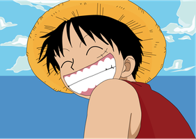 Luffy Vector by MD3-Designs