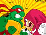 Knuckles vs Raphael Color Variant By: Sauron88 by MrTumminia