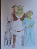 Shrek by Roverdabummer