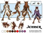 Jenner Official Char Sheet by lady-cybercat
