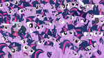 Too many Twilight Sparkles - Wallpaper by CKittyKat98
