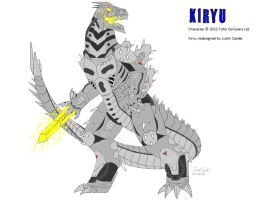 GODZILLA: M.A. - Kiryu by BloodDragon3000