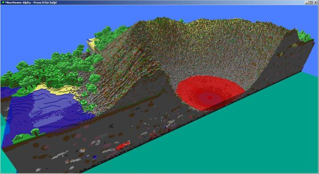 Huge StarStone Crater by dudecon