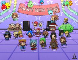 OC Happy Party New Year by Angy89