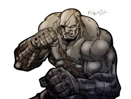 Sagat by MikeES