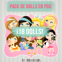 +Doll's en PSD. by BratEditions