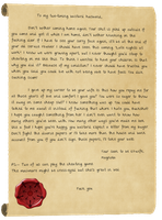 Magnolia's Letter by Lucefudu
