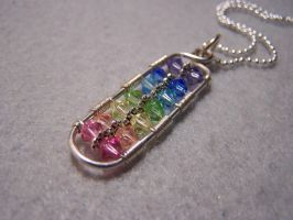 Pendant: crystal chakra by Bright-Circle