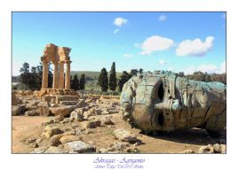 Akragas - Agrigento Sicilia by thespis1