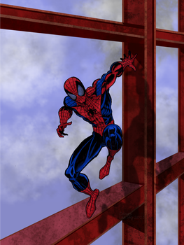 Spiderman 3 --Coloured by ActorzInc
