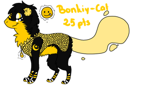 Bonkiy-Cat Adopt 4 // CLOSED by Dycare