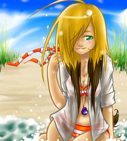 Beach Sher by Kikiine