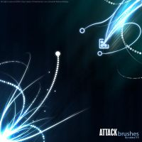 Attack Brushes by rubina119