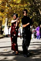 Ada Wong and Leon S.Kennedy cosplay by PrincessRiN0a