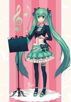 Miku Conductor by Minari23