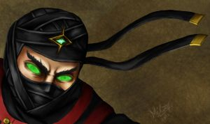 MKD Ermac close-up by Grace-Zed