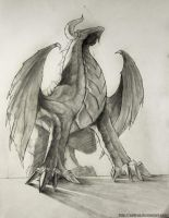 Putting monsters in perspective no.3 by Safirah