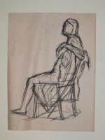 Woman in Chair by MarkHartman