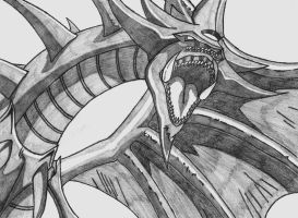 Slifer The Sky Dragon by Black-Dragon671